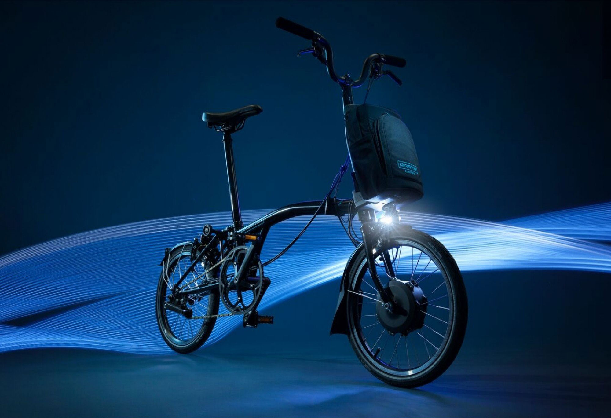 ELECTRIC FOLDING  BIKE BY BROMPTON