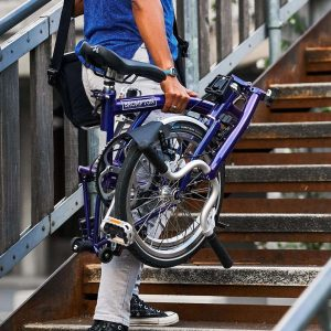 tums.berlin brompton purple metalic