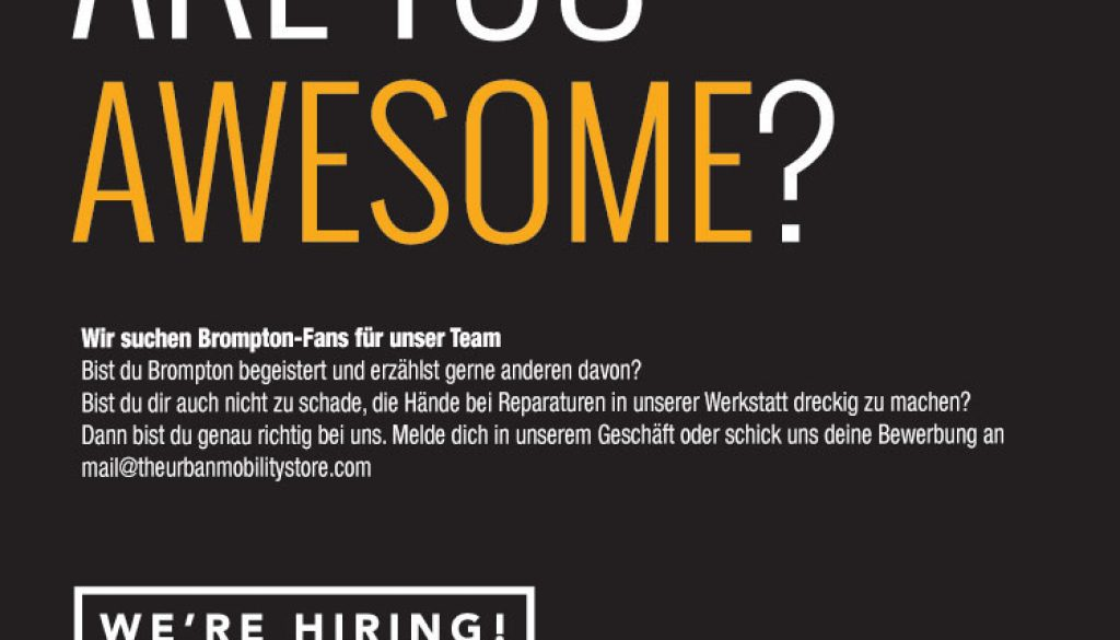 Verkäufer Jobs Berlin : wir stellen ein verk ufer berater f r unseren berlin store klapprad berlin ~ Watch28wear.com Haus und Dekorationen