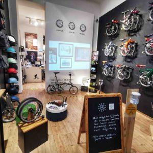 the urban mobility store von innen