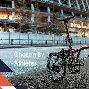 Brompton bike team GB limited edition