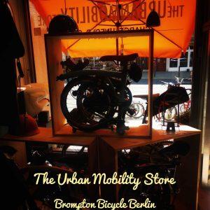 Shop WIndow von The Urban Mobility Store